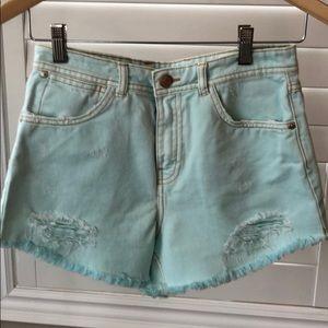 Zara TRF Denim Shorts